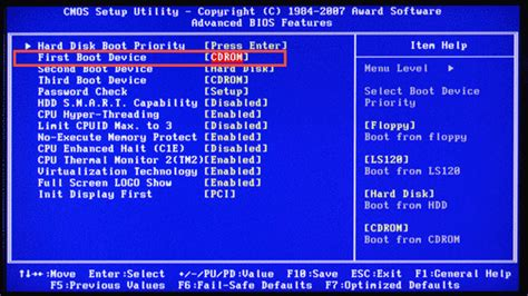 format cd on pc remove virus using hirens boot cd