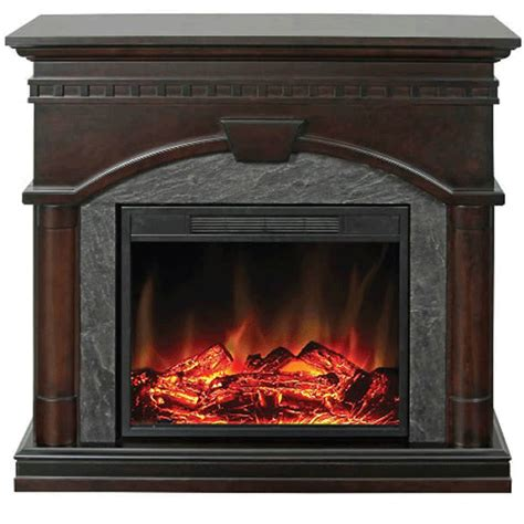wide electric fireplace muskoka cavan 43 in wide electric fireplace and mantel