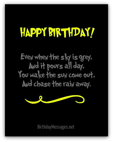 Happy Birthday Poems From by Happy Birthday Poems Page 3