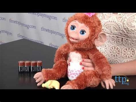 furreal friends cuddles  giggly monkey  hasbro youtube