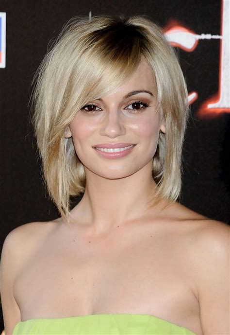 blonde bob short short blonde bob haircut with bangs for thick hair norma