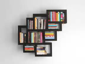 Wall Bookshelve Wall Mounted Bookshelf Design Plushemisphere