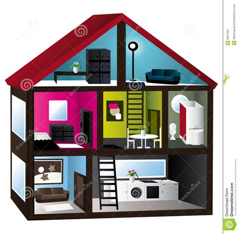 model house 3d model house stock images image 8831394