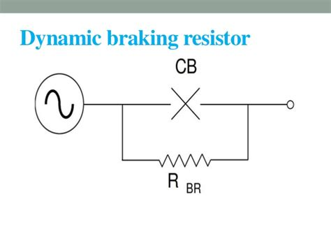 working principle of braking resistor how dynamic braking resistor work 28 images dynamic braking resistors high power and metal
