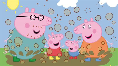 pig background peppa pig wallpapers wallpaper cave