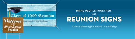 reunion banners design templates reunion signs family reunion signs signazon