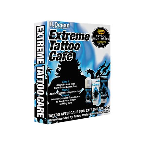 tattoo care week 2 tattoo aftercare kit etc h2ocean