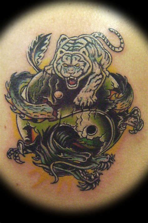 tiger and dragon tattoo