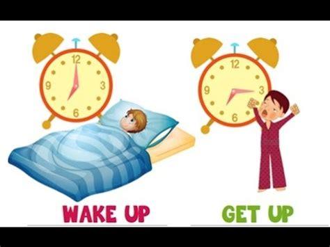 get up up vs get up معنى كلمة
