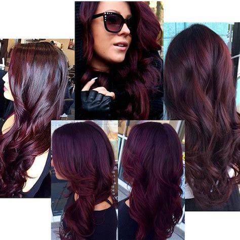 color para el cabello de moda 2016 25 best ideas about pelo borgo 241 a on pinterest pelo rojo