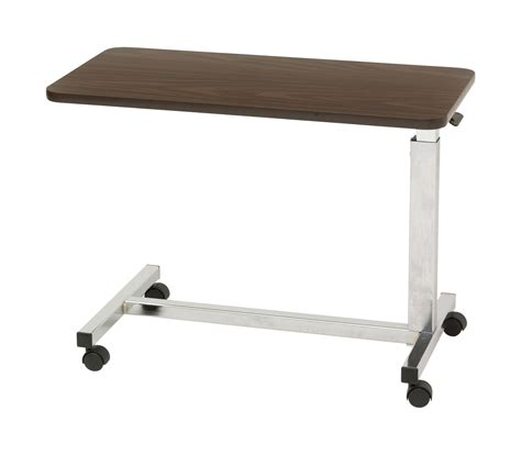 low bedside tables low height overbed table drive medical 13081 medical
