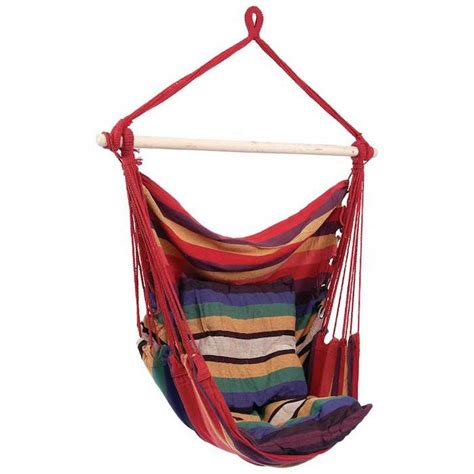 Hanging Hammock Chair Yugster Indoor Outdoor Hanging Hammock Chair 2 Colors