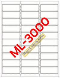 ml 3000 label template maco ml 3000 ml 3000 ml3000 laser labels inkjet