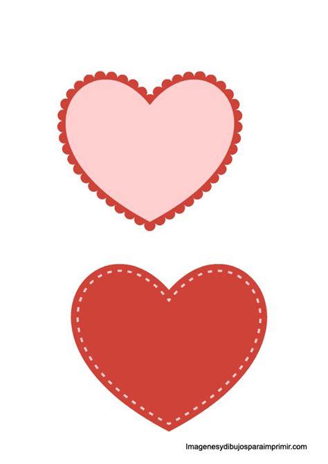 imagenes de corazones moldes moldes de corazones para imprimir