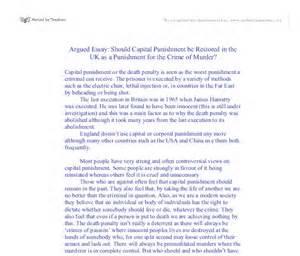 Abolish Penalty Essay by Abolishing The Penalty Essays Essay On The Penalty About Writing Help For