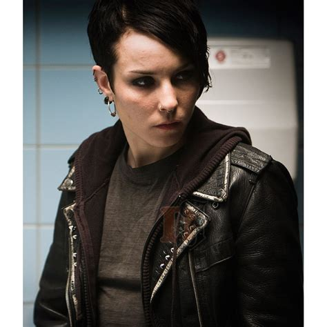 dragon tattoo jacket buy the girl with the dragon tattoo noomi rapace lisbeth