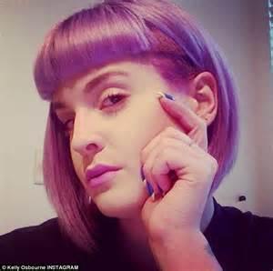new hairstyles instagram kelly osbourne unveils new edgy hairdo in instagram selfie