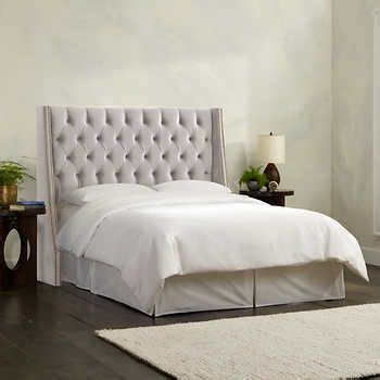 Remodeling Bedroom Olympia Tufted Upholstered Headboard In Various Sizes