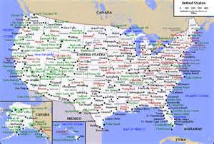 city map of the united states maps of the usa the united states of america map