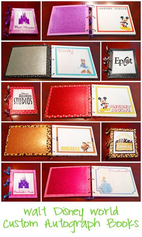 Handmade Disney Autograph Books - handmade disney autograph books disney autograph book