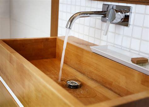 Waschbecken Auf Holz by Holz Waschbecken Schreinerei R 246 Dl