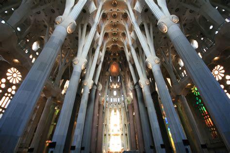 Interior Sagrada Familia by Sagrada Fam 237 Lia Interior De La Nau Ambotes