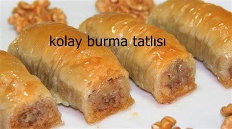 Burma Tatlisi Resimli Ve Pratik Nefis Yemek Oktay Usta | kolay burma kadayıf tarifi