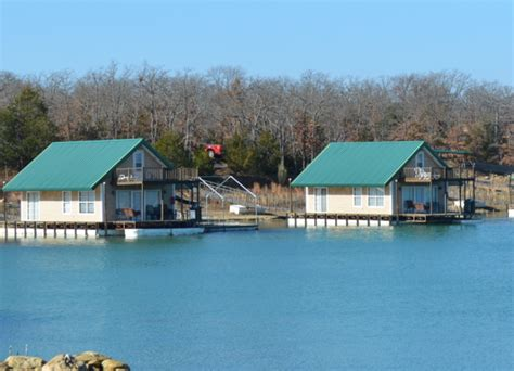 Floating Cabins At Lake Murray by Lake Murray The Most Beautiful Lake In Oklahoma