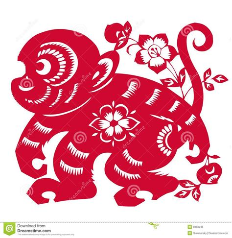 new year monkey free image zodiac of monkey year royalty free stock image