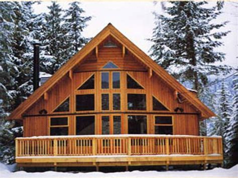 A Frame Cabin Kits Cabin Chalet House Plans Chalet Plans Cottage Plans A Frame
