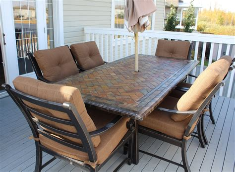 costco patio furniture slate patio table costco patio furniture