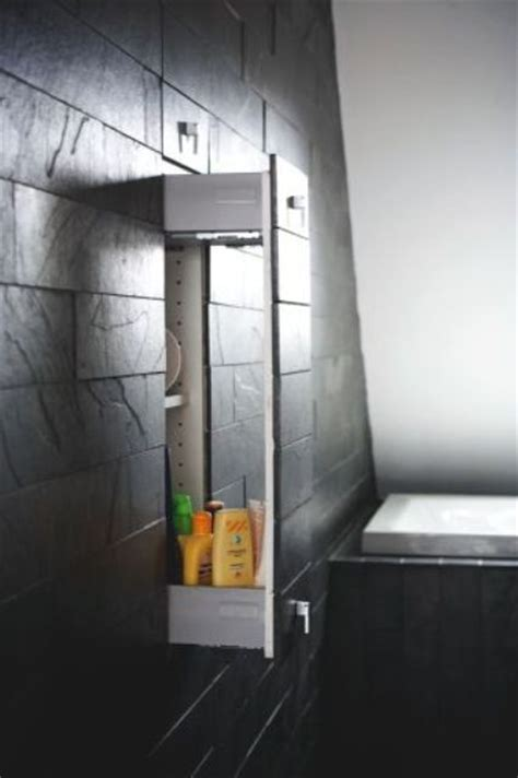 hidden in bathroom picture of hidden storage to give a clean contemporary