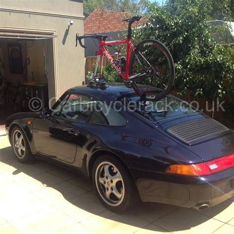 porsche bicycle car porsche 911 bike rack innovative vacuum cup rack