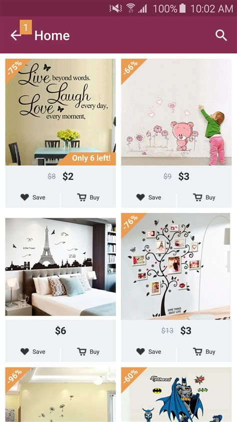 home design decor shopping by contextlogic inc amazon com home design decor shopping appstore for