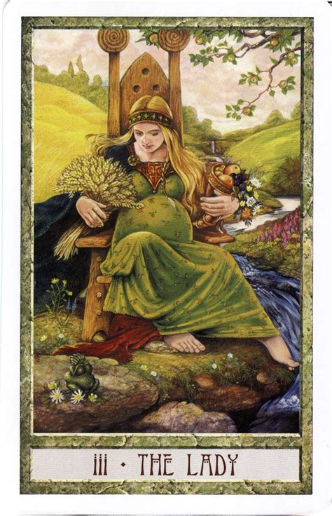 the lady the empress druid craft tarot tarot art the empress tarot tarot