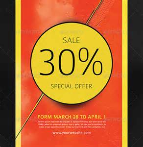 sale flyer template sales flyer template 61 free psd format free