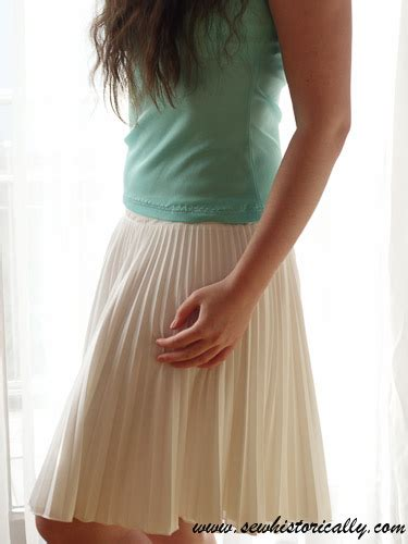 diy knit skirt pleated skirt with diy cotton knit underskirt sew