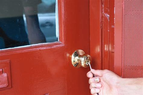How To Open A Door With A Bobby Pin how to unlock a door with a bobby pin with pictures ehow