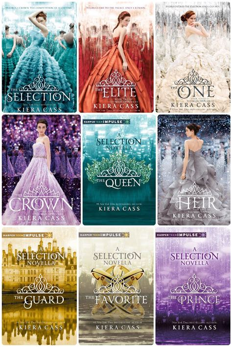 the selection series 1 selection series by kiera cass your favourite book