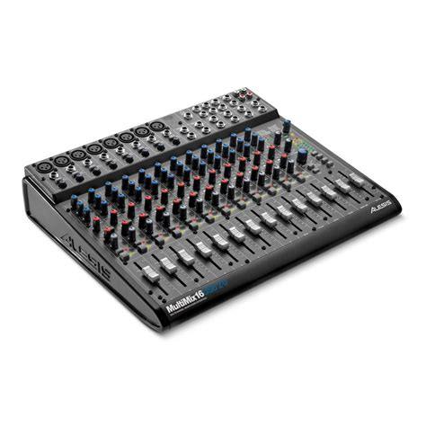 Mixer Audio Sound alesis multimix 16 usb 2 0 mixer audio interface