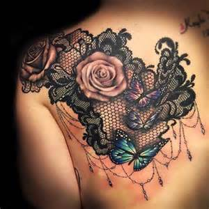 best 25 lace tattoo ideas on pinterest lace shoulder