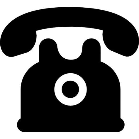 imagenes de telefonos sin fondo tel 233 fono de dise 241 o negro de la vendimia descargar iconos