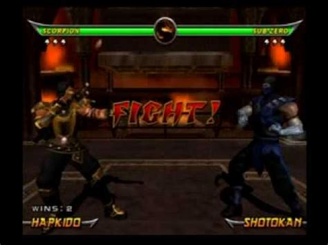 mortal kombat scorpion vs noob saibot youtube mortal kombat armageddon rival battle scorpion vs noob