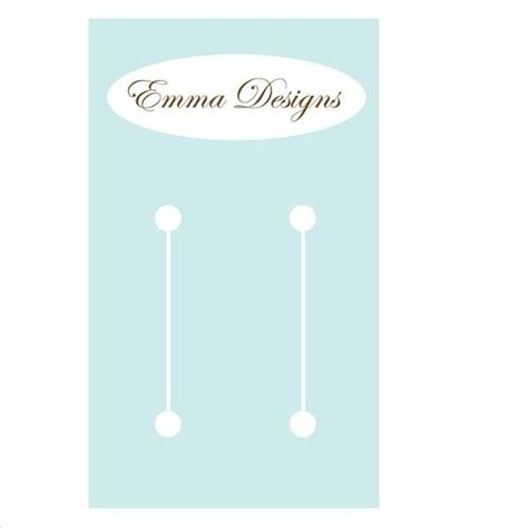 bow display card template 10 best images about display template on