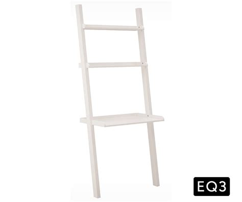 ladder shelf desk white asterix 3 ladder shelf and desk decorium furniture