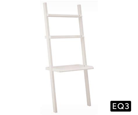 Asterix 3 Ladder Shelf And Desk Decorium Furniture Ladder Desk White