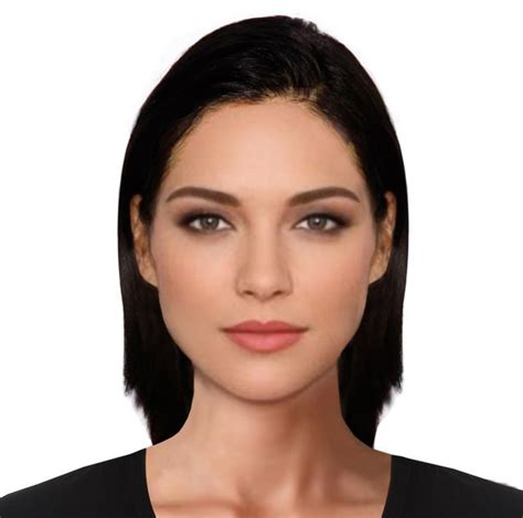 shapes of models faces e fit computer creates faces of the most beautiful man