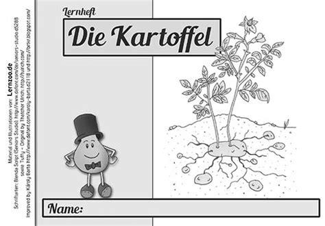 Beschriftung Kartoffelpflanze by Grundschulblogs De