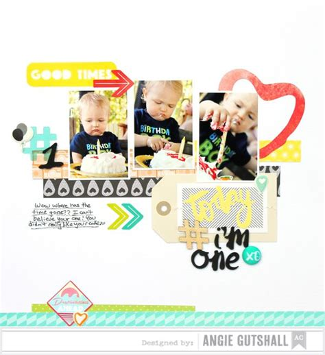 Challenge Use Themed Papers For Non Themed Layouts 3 by 234 Best Images About Birthday Scrapbooking On