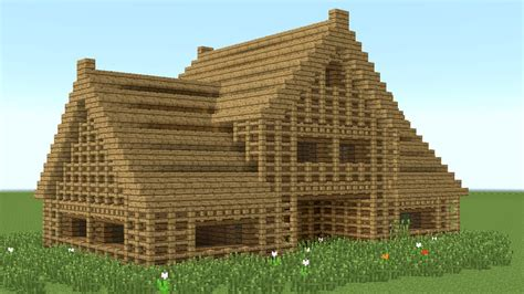wood to build a house minecraft how to build 6 room wooden house youtube
